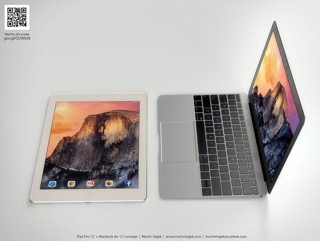 Concept iPad Pro + MacBook Air 12 pouces : image 4