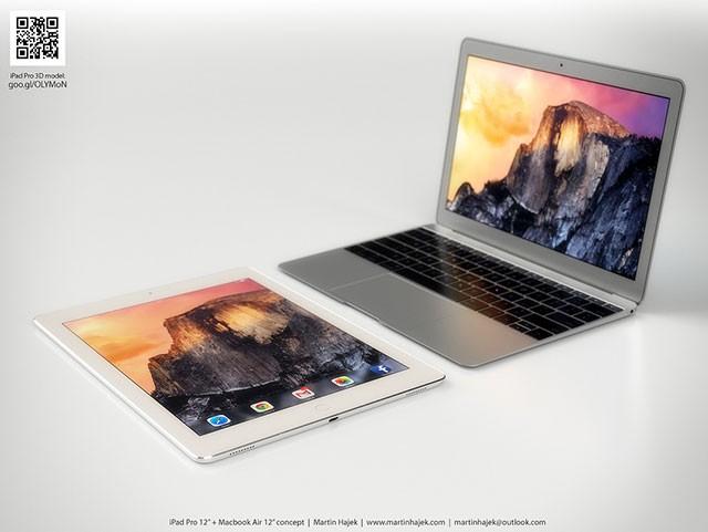 Concept iPad Pro + MacBook Air 12 pouces : image 5