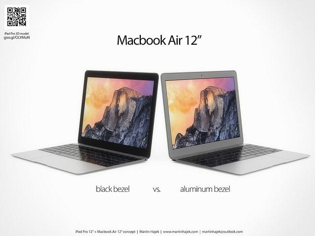 Concept iPad Pro + MacBook Air 12 pouces : image 8