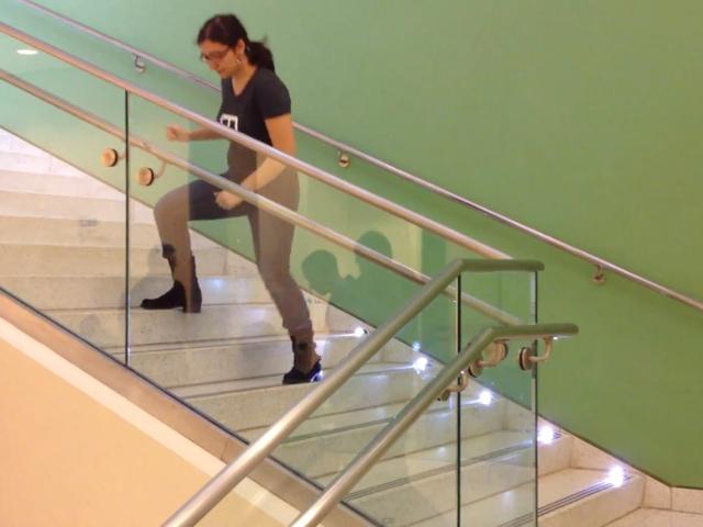 L'escalier piano