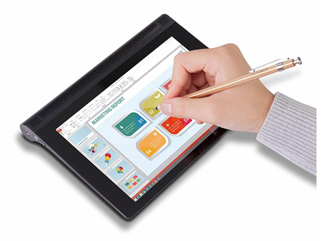 cette tablette lenovo accepte n 39 importe quoi en guise de stylet. Black Bedroom Furniture Sets. Home Design Ideas