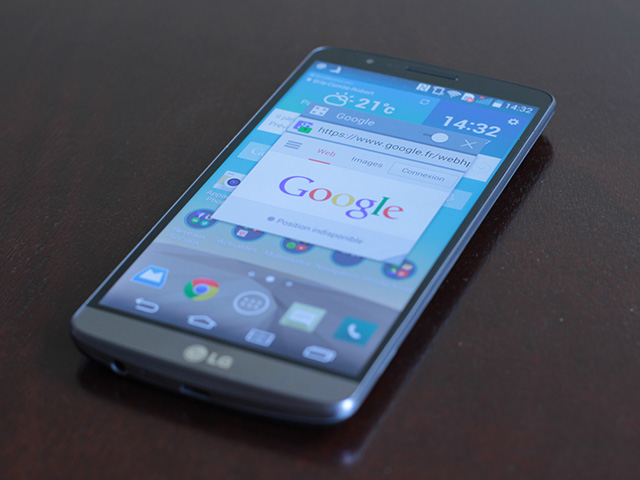 Matériaux LG G4