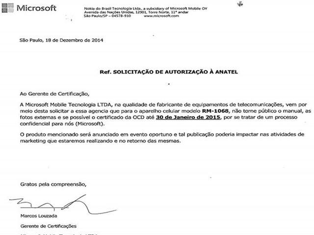 Lumia 435 Anatel : image 2