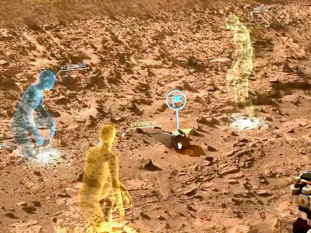 La NASA et HoloLens