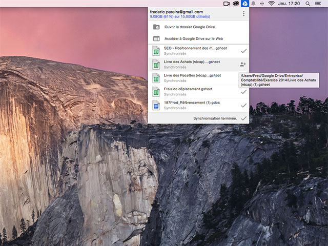 News Google Drive OSX