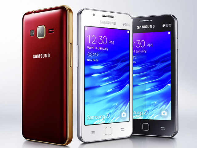 Samsung Z1 officiel
