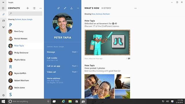 Skype Windows 10 : image 1