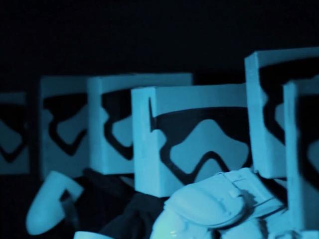 Star Wars avec du carton