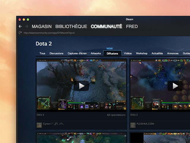 how to stop broadcasting steam