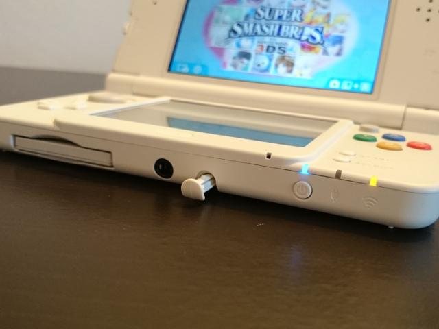 Le stylet de la New Nintendo 3DS