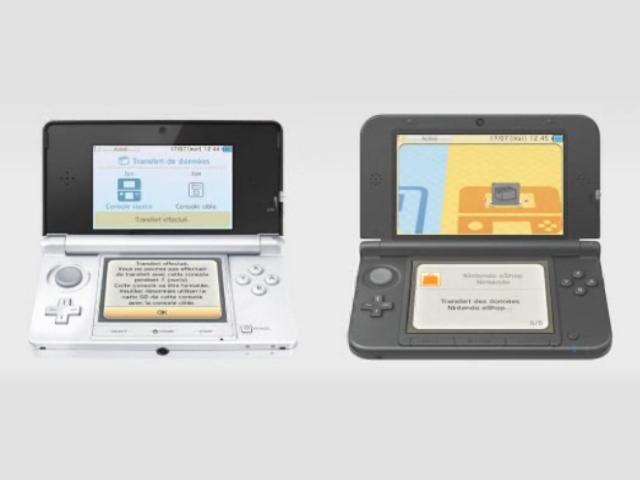 Transfert sur Nintendo 3DS