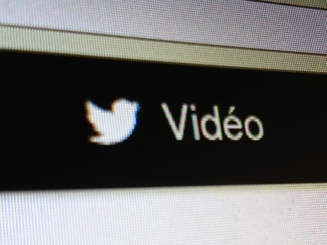 Twitter vidéo