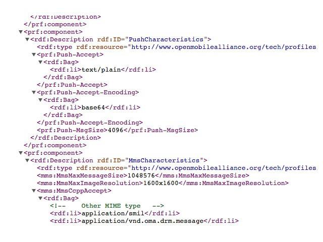 User Agent Profile Galaxy S6 2