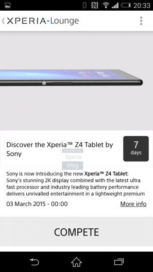 Sony Xperia Z4 Tablet : image 2