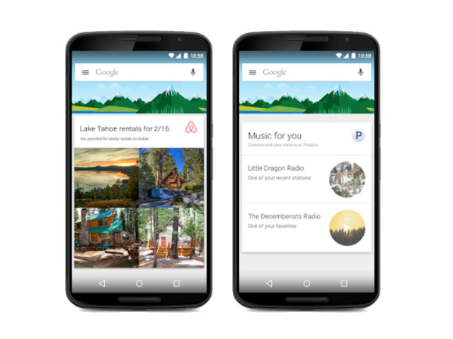 Applications tierces Google Now