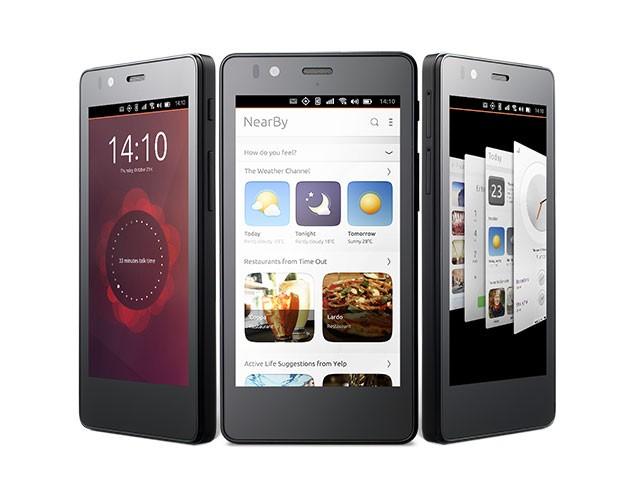 Premier téléphone sous Ubuntu Touch officiel