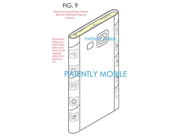 Brevet écran flexible Samsung