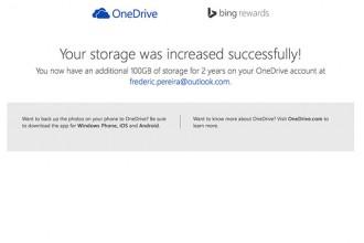 Cadeau OneDrive 100 Go janv15