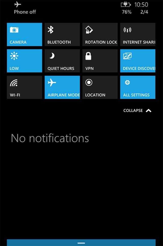 Capture Windows 10 mobile : image 4