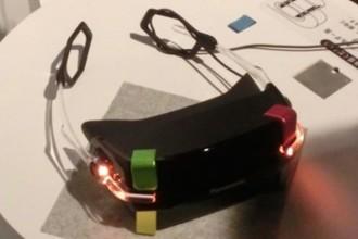 Le casque de réalité virtuelle de Panasonic