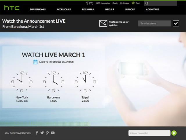 Live HTC One M9