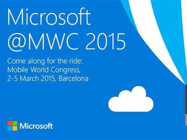 Conférence de presse Microsoft MWC 2015