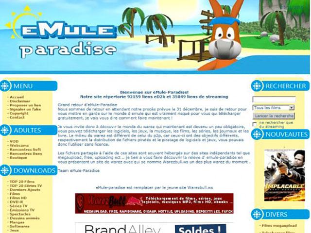 Procès Emule Paradise
