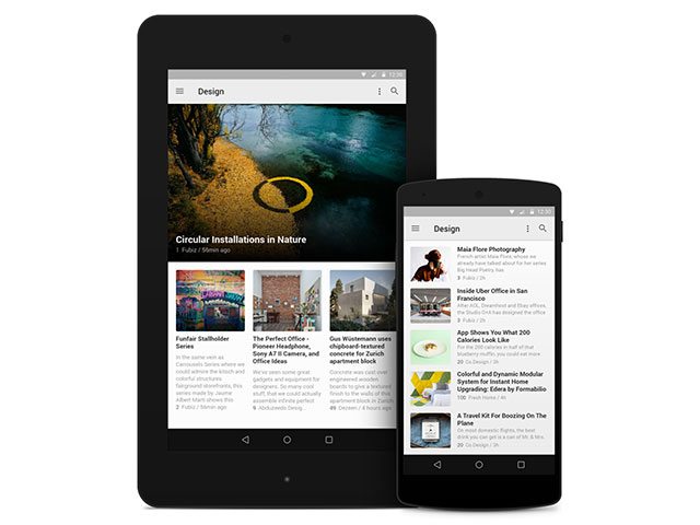 Feedly Material Design : image 1