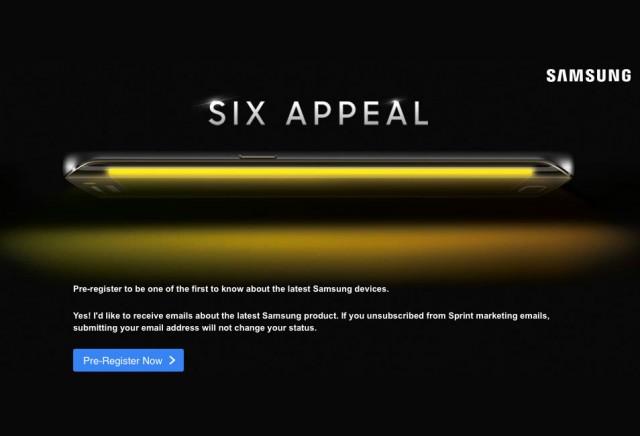 Teaser Galaxy S6 Edge Sprint