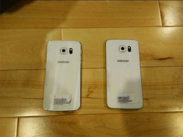 Photo Galaxy S6 Edge de dos