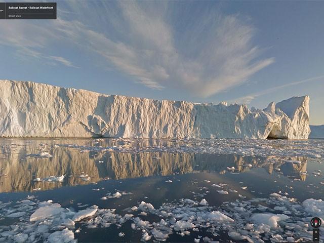 Groenland Google Street View