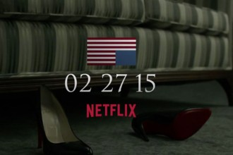 Teaser saison 3 House of Cards