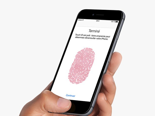 Lecteur Touch ID iPhone 6s