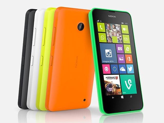 Caractéristiques Lumia 640