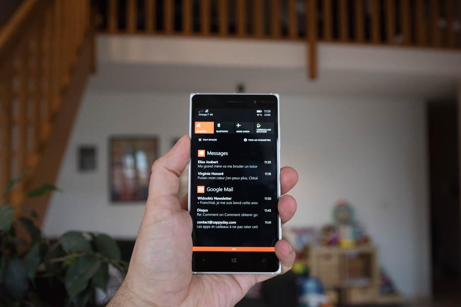 Lumia 830 : photo 8