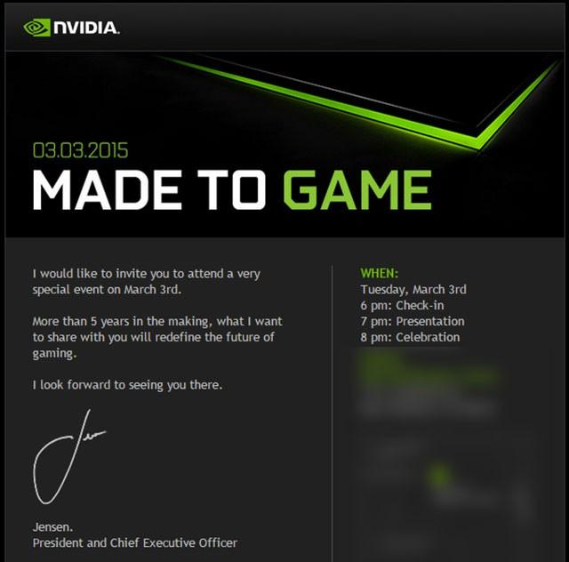 Invitation Nvidia