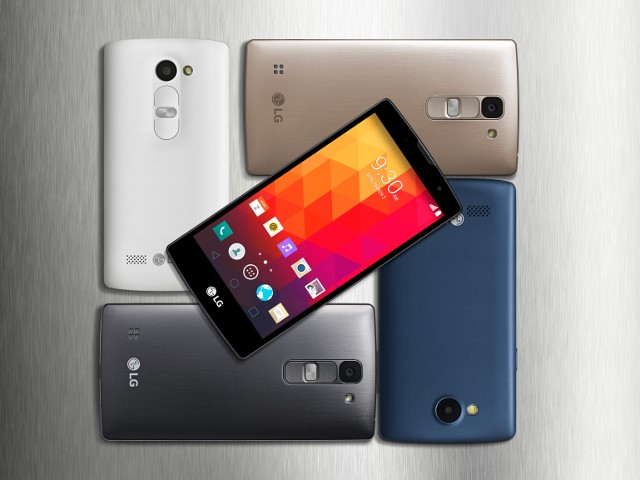LG lance quatre smartphones aux allures de haut de gamme