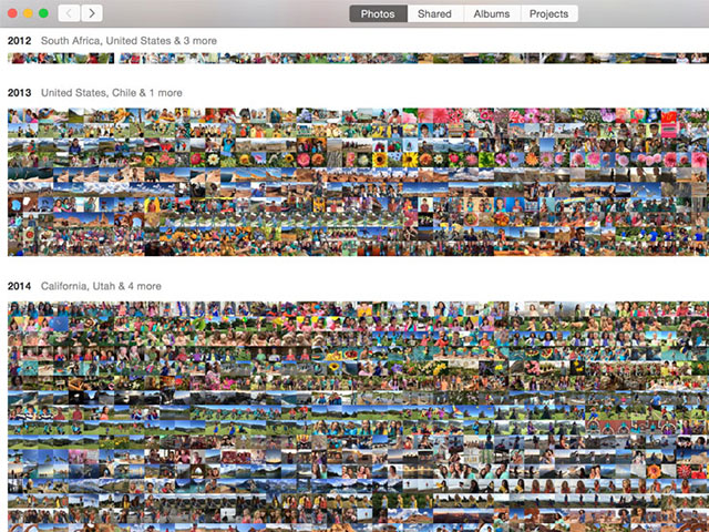 Photos OSX : capture 1