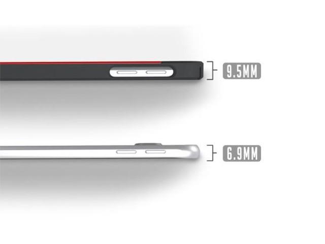 Rendu Galaxy S6 profil