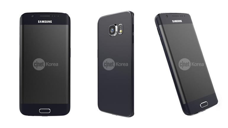 Rendu Galaxy S6 Edge : image 1