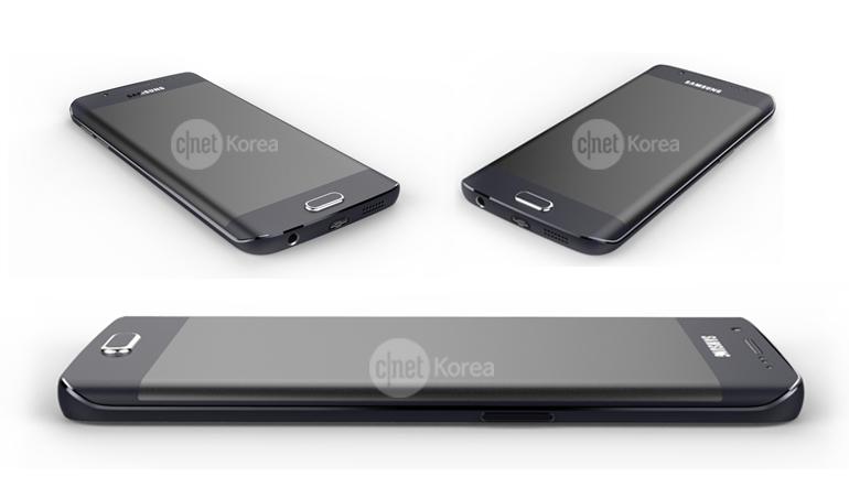 Rendu Galaxy S6 Edge : image 4
