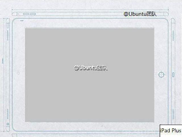 Schéma iPad Plus