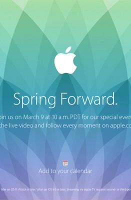 Spring Forward Apple