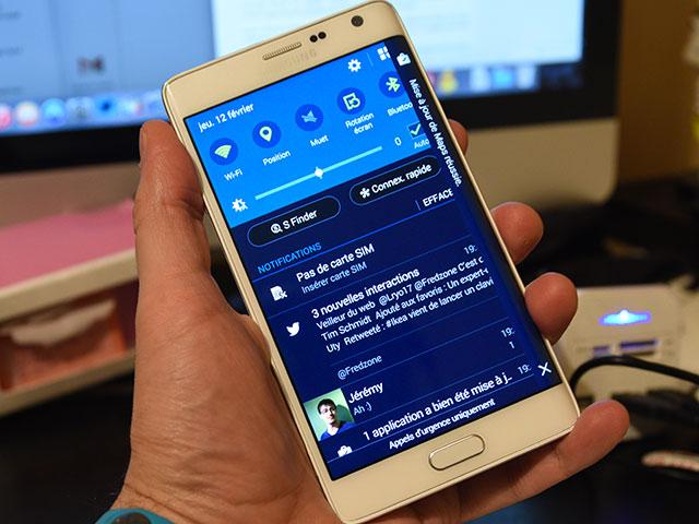 Infos Touchwiz Galaxy s6