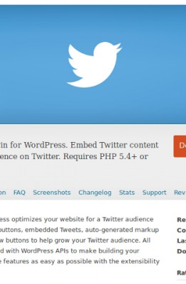 Twitter pour WordPress