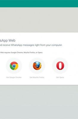WhatsApp Firefox Opera