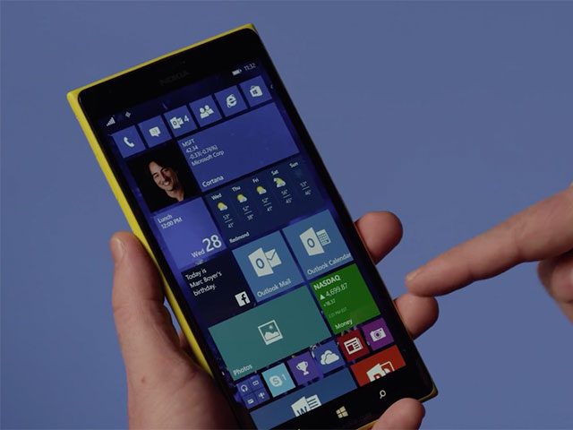 Windows 10 TP Phones