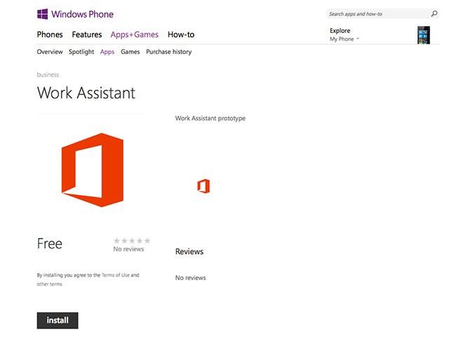 Work Assistant Microsoft