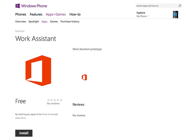 Work Assistant Microsoft