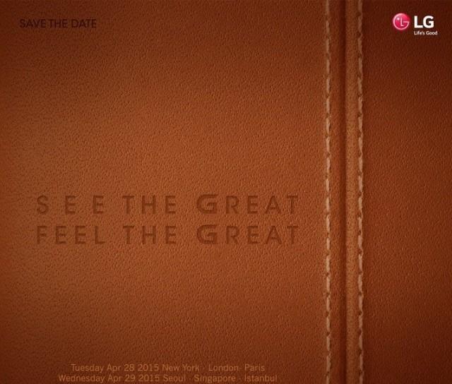 Invitation LG G4